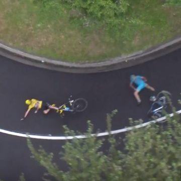 Tour de France 2016 - La caduta di Froome