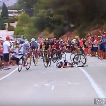 Vuelta 2016 - Anche gli spettatori sconsiderati sono un pericolo. Alcune regole per giovani tifosi