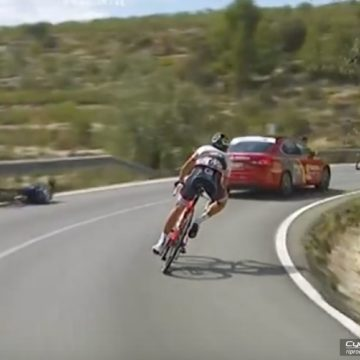 Vuelta 2016 - Che volo Rojas, colpa dell'auto?