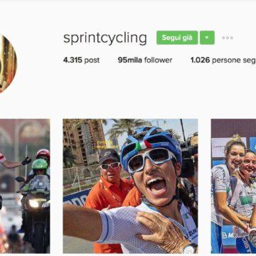 Usate Instagram? Sentite che avventura per Sprint Cycling