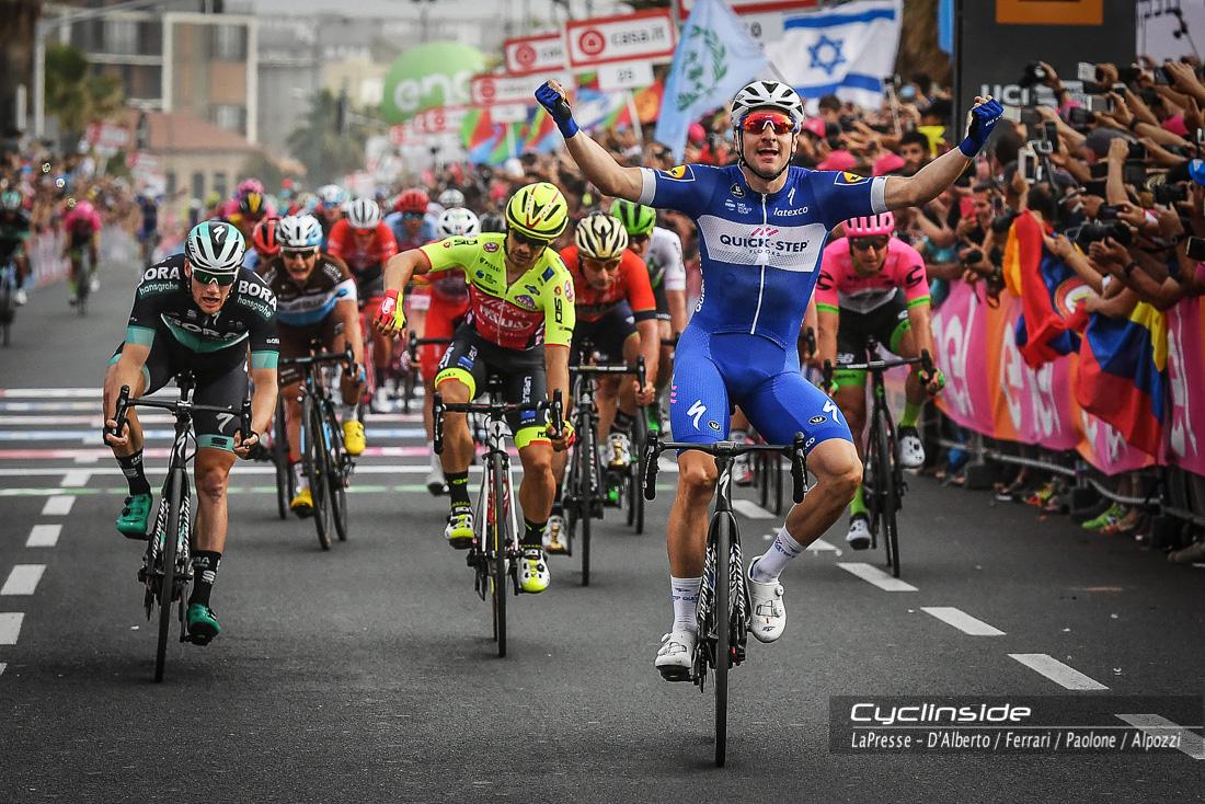 Giro d'Italia, Viviani fa il bis, Maglia rosa ancora Rohan