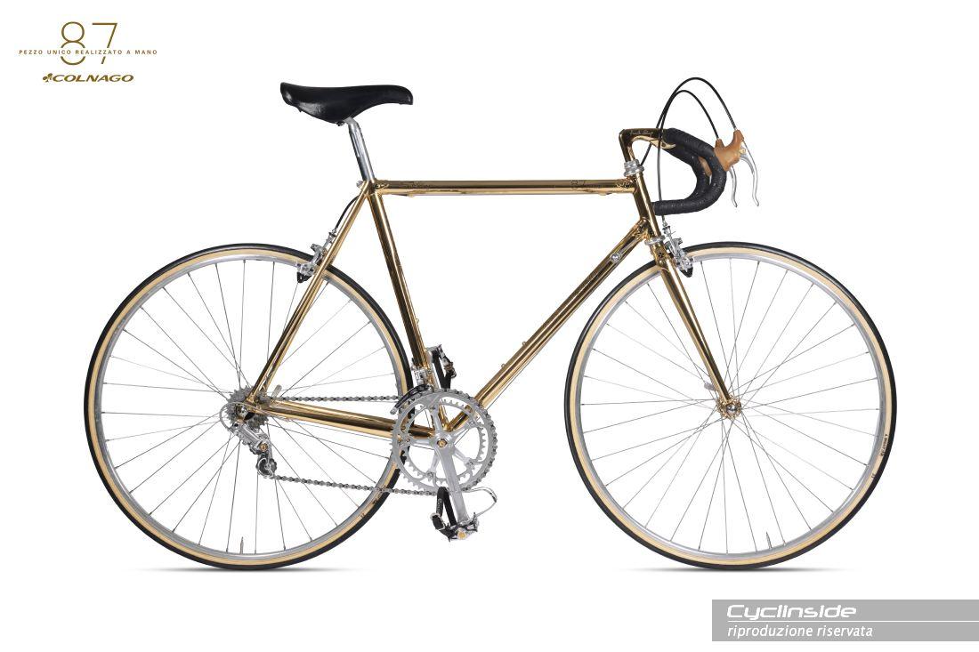 Buon Compleanno Colnago 87 Anni Con Una Bicicletta Unica